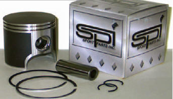 SPI Dual ring 800HO piston w/bearing