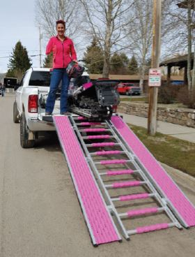 Caliber Snow & ATV ramp Pink Ribbon (limited edition)